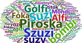 نام مستعار در زبان مجاری