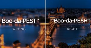 تلفظ زبان مجاری